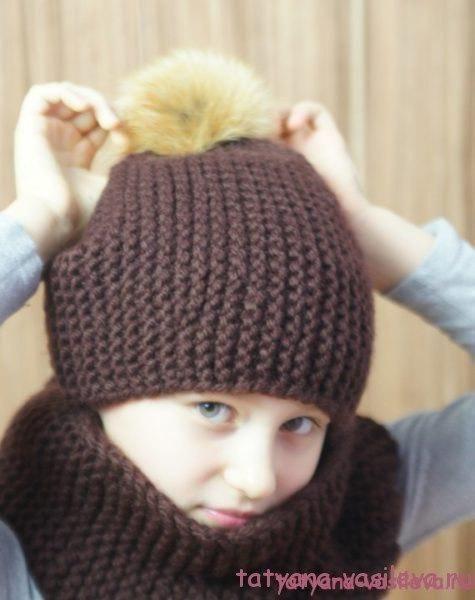 Шапки детские вязаные   сборка (25 картинок) (1)