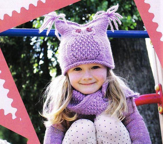Шапки детские вязаные   сборка (25 картинок) (3)