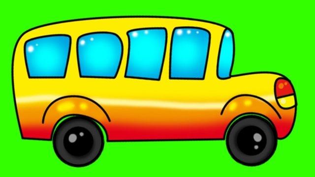 Автобус фото для детей   подборка картинок 027