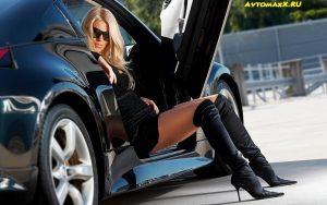 Автомобиль и девушка фото красивые 029