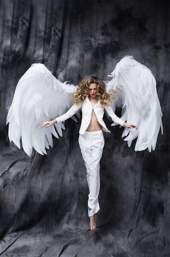 Фотосет девушек в образе ангела #6