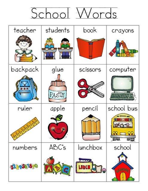Английские слова картинки для детей   подборка 019