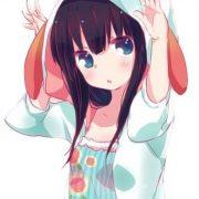 Аниме няшные картинки на аву   красивые аватарки 026