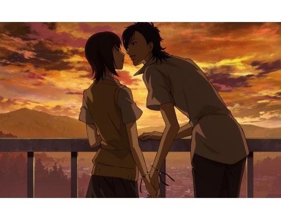Аниме парень и девушка за руки держатся   картинки (10)