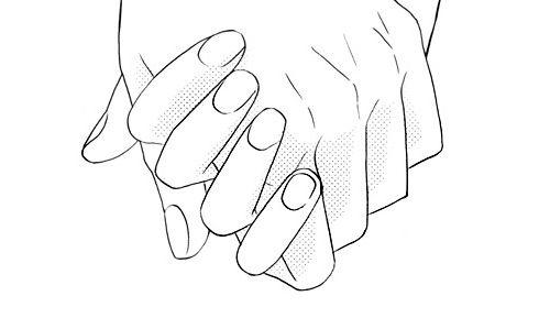 Аниме парень и девушка за руки держатся   картинки (25)