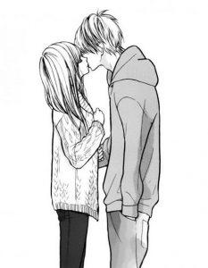 Аниме рисунки про любовь и отношения   сборка 001