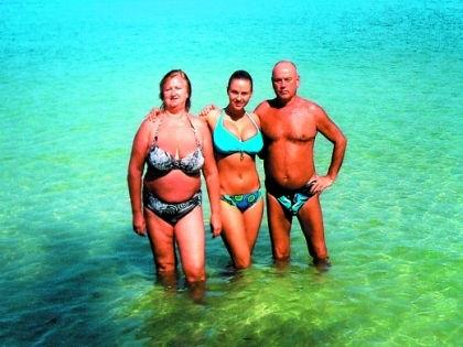 Анна Семенович на пляже   фото 013