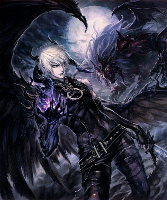 Арты демоны аниме   красивые картинки001