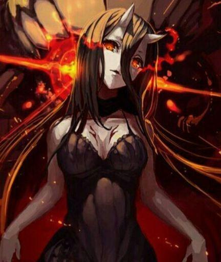 Арты демоны аниме   красивые картинки007