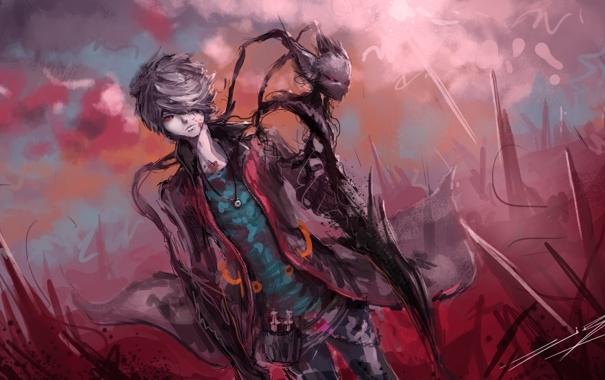 Арты демоны аниме   красивые картинки008