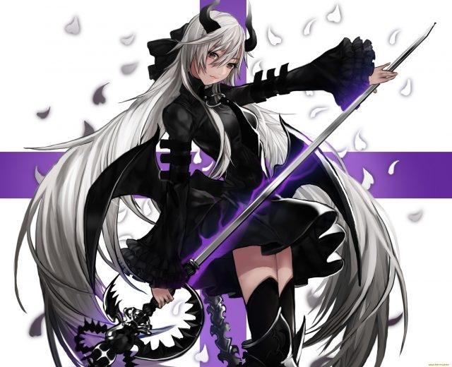 Арты демоны аниме   красивые картинки011