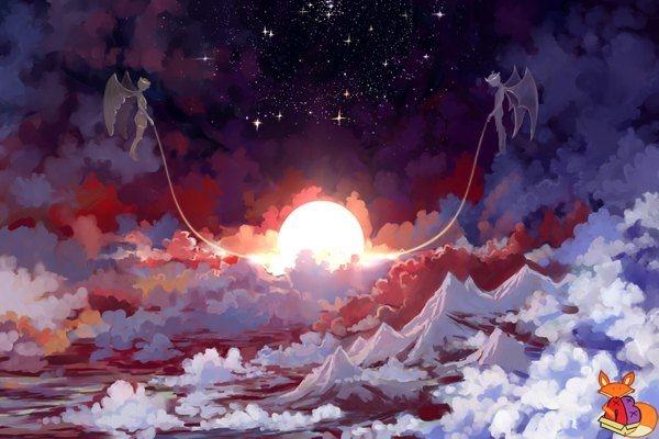 Арты демоны аниме   красивые картинки015