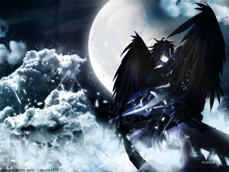 Арты демоны аниме   красивые картинки016
