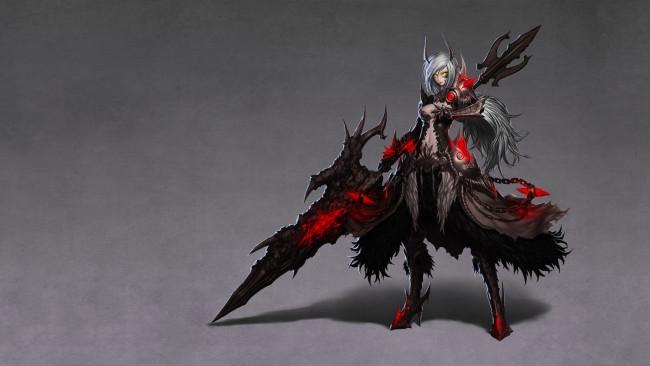 Арты демоны аниме   красивые картинки020