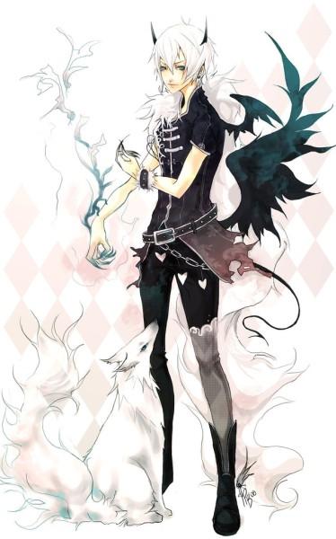 Арты демоны аниме   красивые картинки022