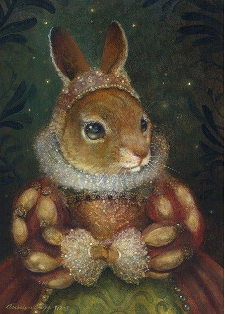 Арт кролики красивые картинки004