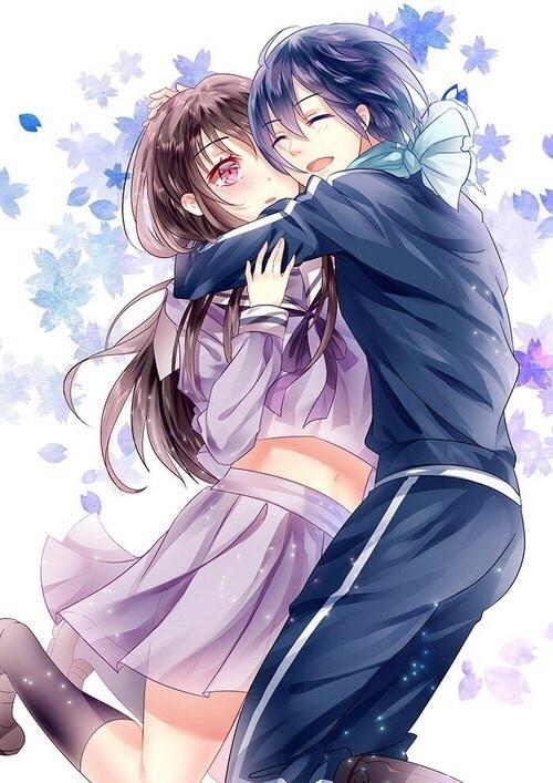 Арт парень обнимает девушку   картинки 024