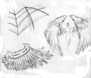 Арт человек с крыльями   подборка013