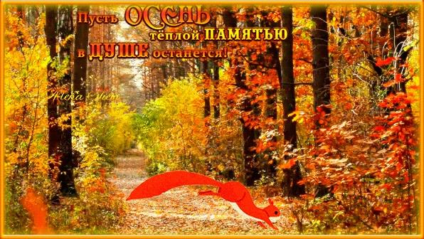 А завтра осень картинки и открытки красивые 011