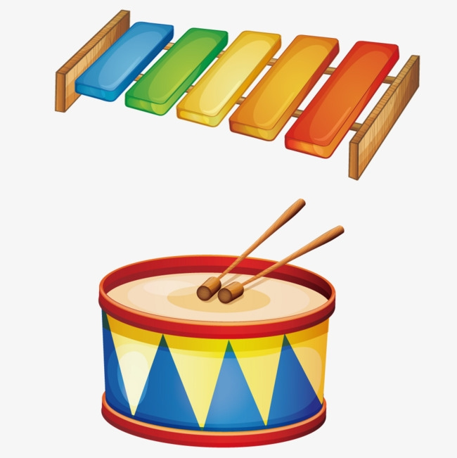 Детские рисунки барабан