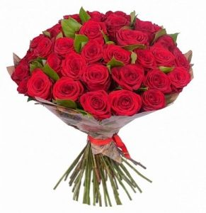 Букеты из 35 роз фото красивые 024