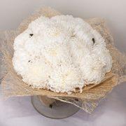 Букет белых хризантем фото (22)