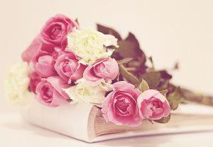 Букет розовых и белых роз   красивые фото 029