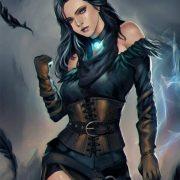Ведьмак арт картинки и рисунки026