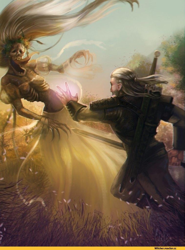 Ведьмак картинки арт   подборка027
