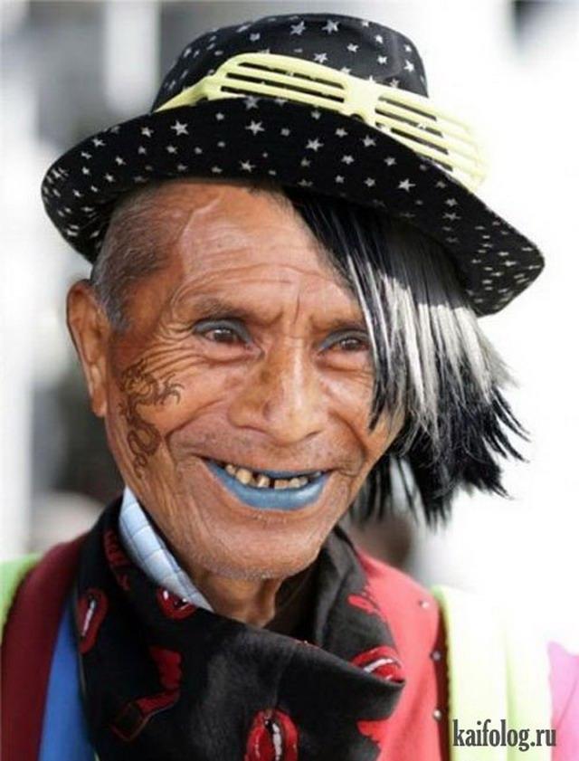 Веселые картинки пожилых людей   подборка фото (18)
