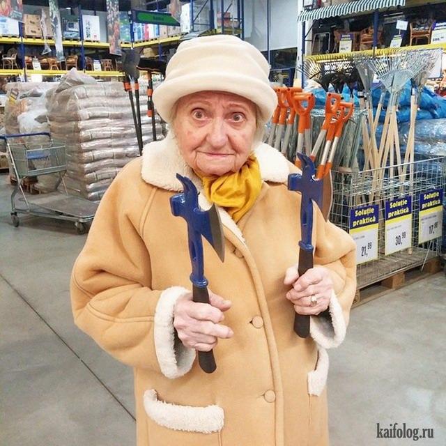 Веселые картинки пожилых людей   подборка фото (2)