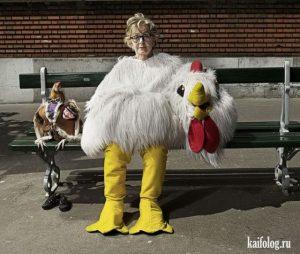 Веселые картинки пожилых людей   подборка фото (24)