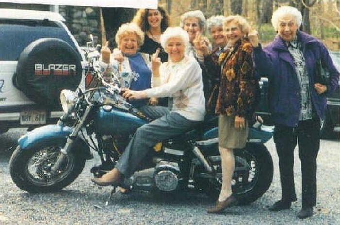 Веселые картинки пожилых людей   подборка фото (3)