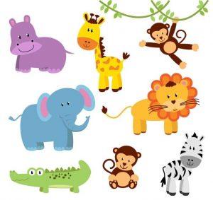 Веселые рисованные картинки животных 029
