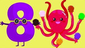 Веселые цифры от 1 до 10   картинки для детей (29)