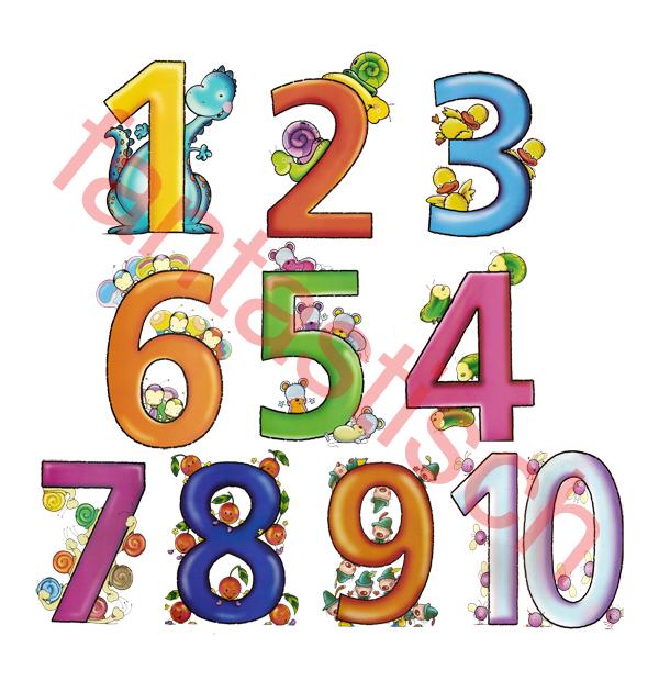 картинки цифры от 1 до 10 для детей красивые