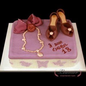 Вкусные торты на 17 летие девушке   фото 025