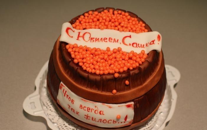 Вкусный торт мужчине на 25 лет   фото 004