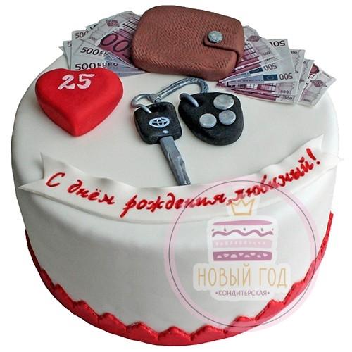 Вкусный торт мужчине на 25 лет   фото 006