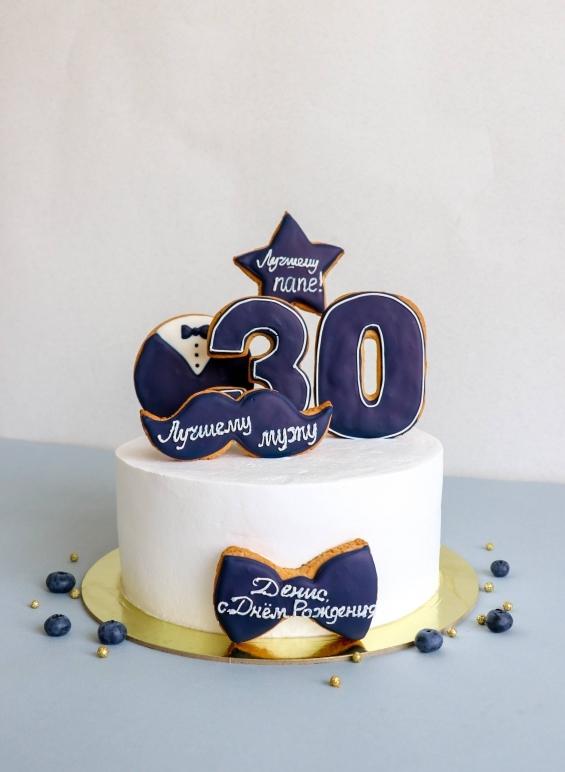 Вкусный торт мужчине на 25 лет   фото 007