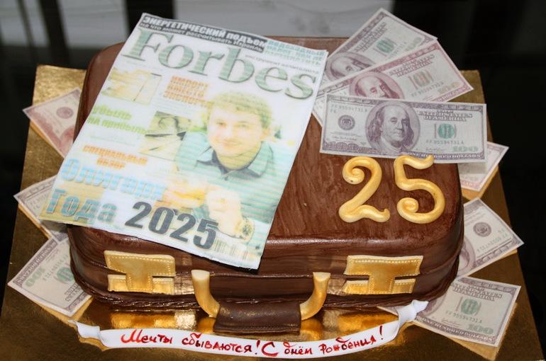 Вкусный торт мужчине на 25 лет   фото 011