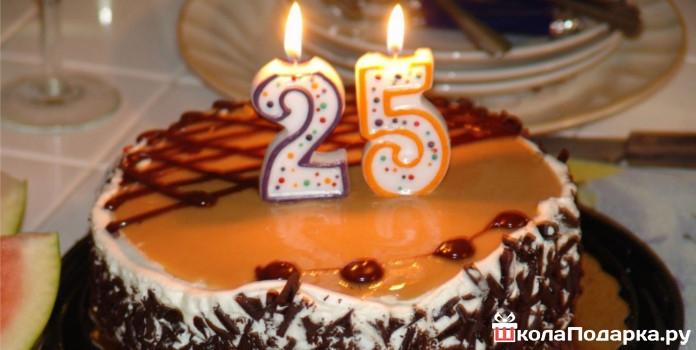 Вкусный торт мужчине на 25 лет   фото 016