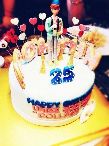 Вкусный торт мужчине на 25 лет   фото 017