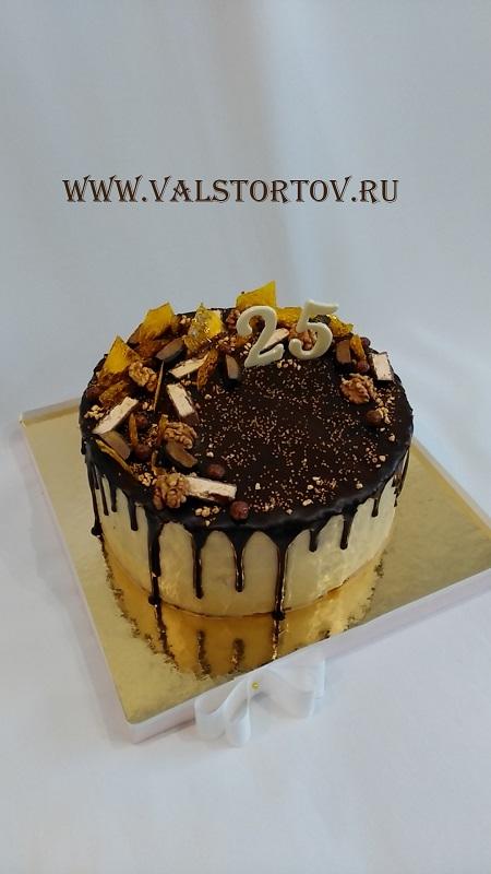 Вкусный торт мужчине на 25 лет   фото 019