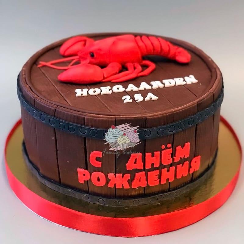 Вкусный торт мужчине на 25 лет   фото 023