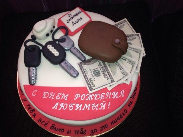 Вкусный торт мужчине на 25 лет   фото 025