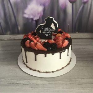 Вкусный торт мужчине на 25 лет   фото 029