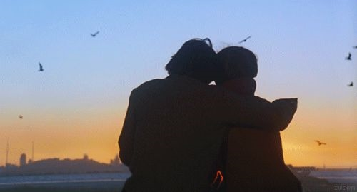 Влюбленные картинки на закате   подборка фото 006