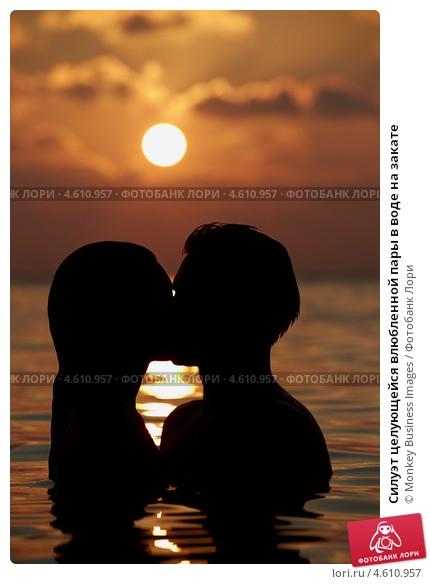 Влюбленные картинки на закате   подборка фото 008