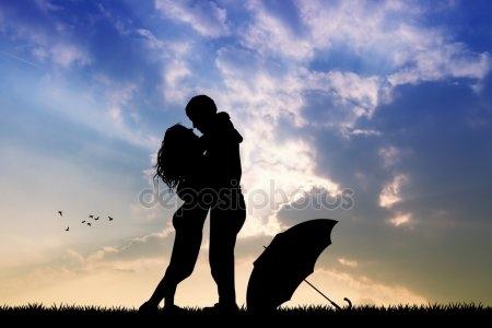 Влюбленные картинки на закате   подборка фото 010